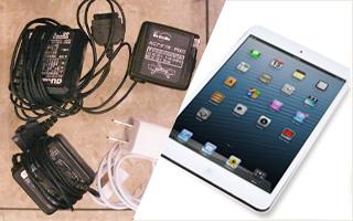 携帯充電器、iPad